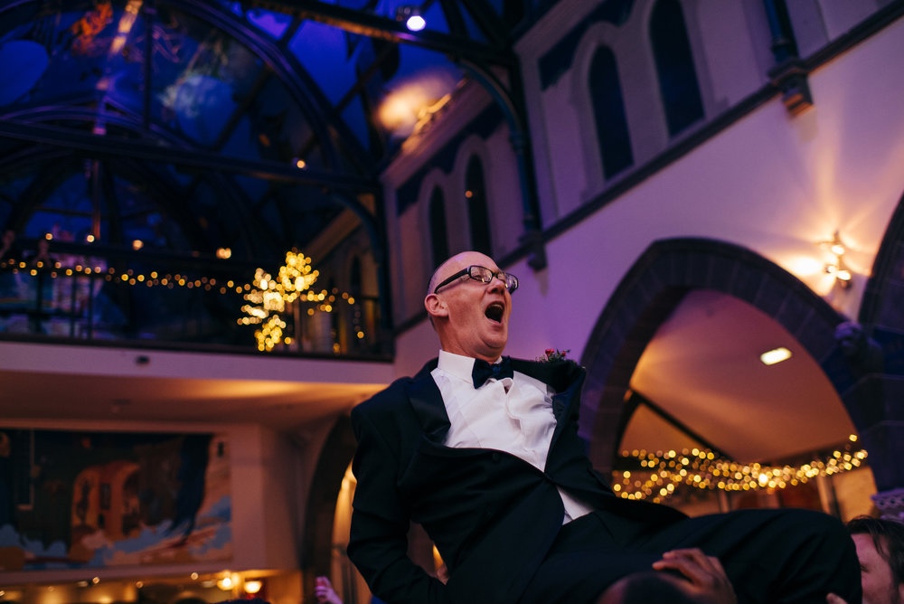 Jewish dancing wedding Glasgow