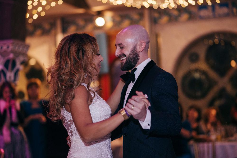 Jewish wedding first dance