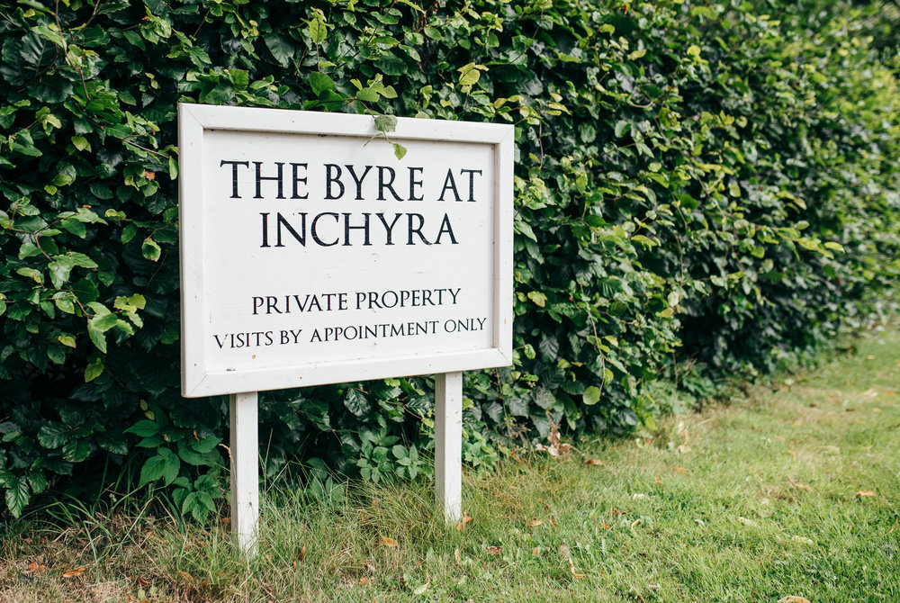 They Byre at Inchyra