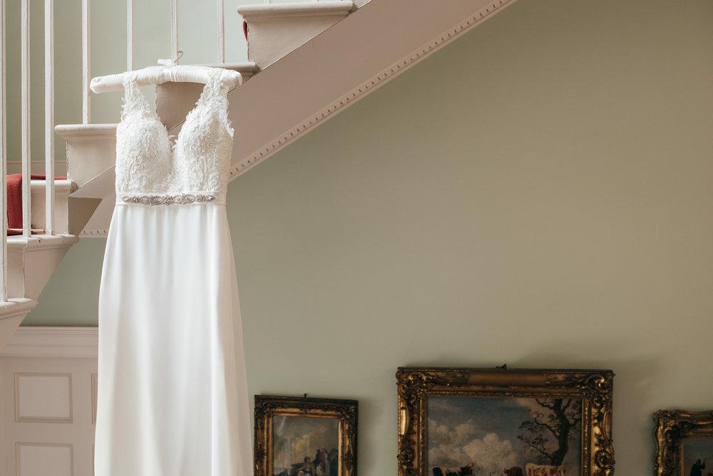 Wedding dress Byre at Inchyra