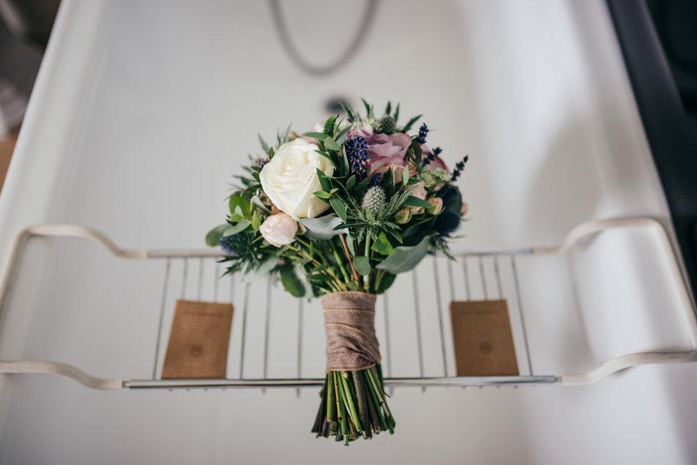 Wedding flowers Byre at Inchyra