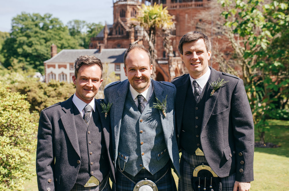 Bridal Party Mount Stuart