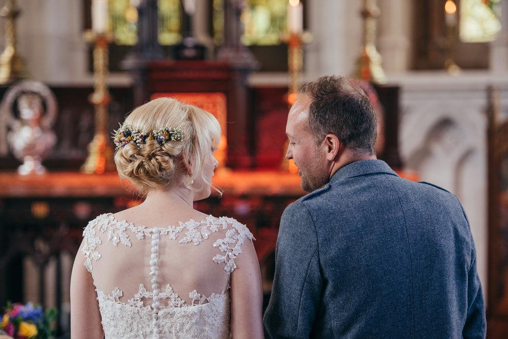 Wedding Mount Stuart Chapel
