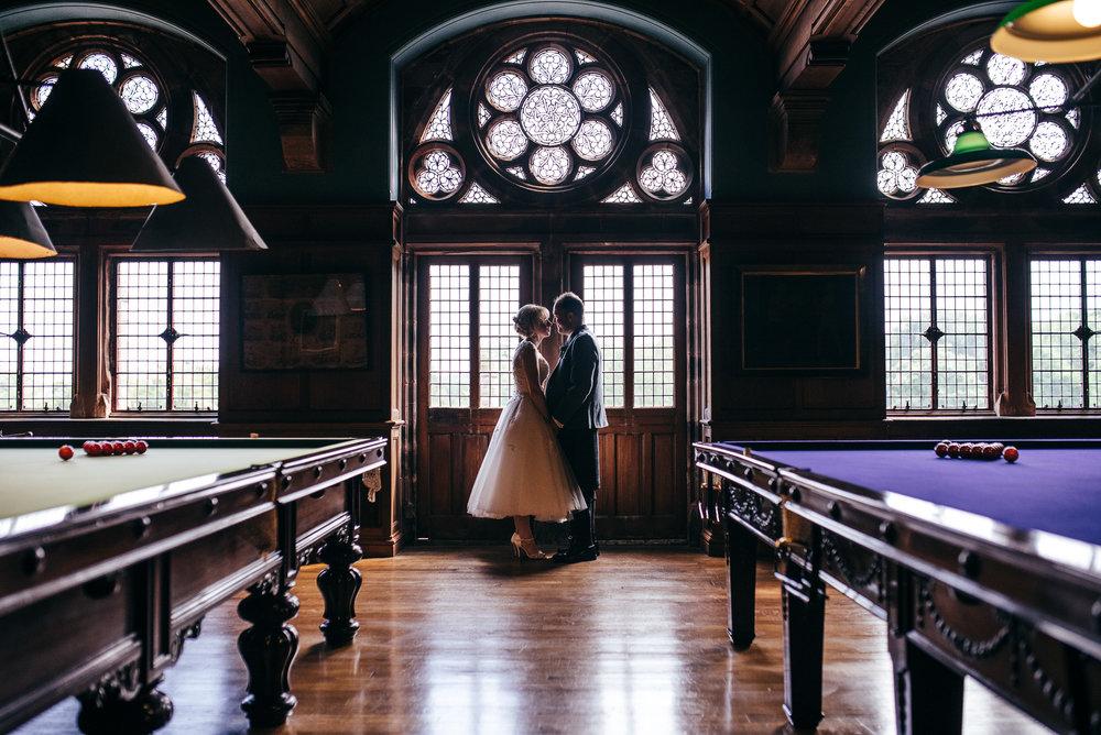 Bride and Groom portraits mount stuart