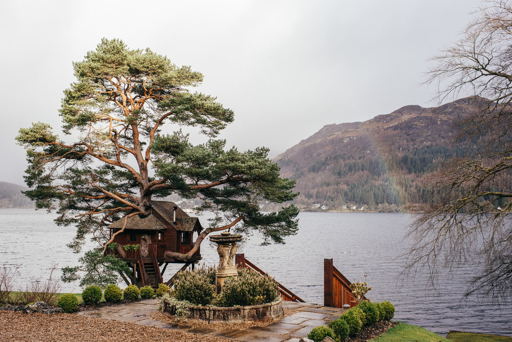 Loch Goil Tree House