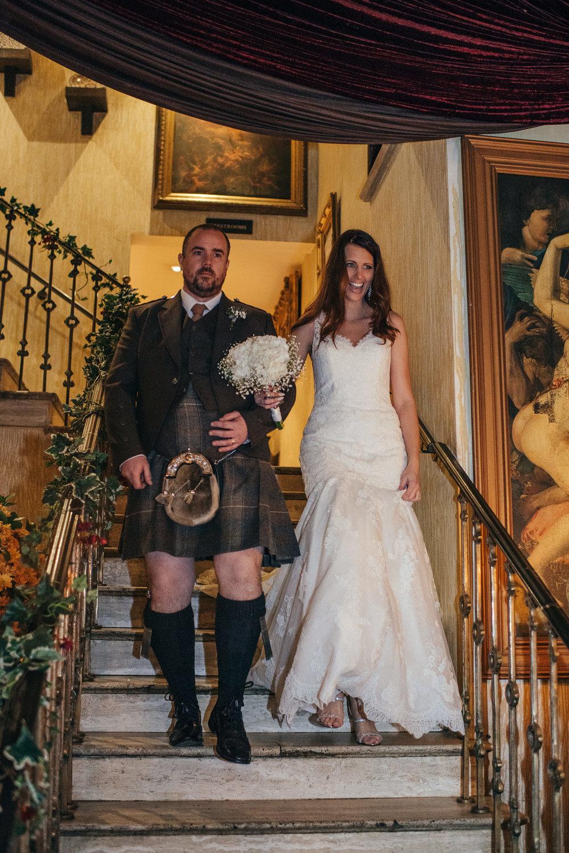 Bride entrance Arta Glasgow