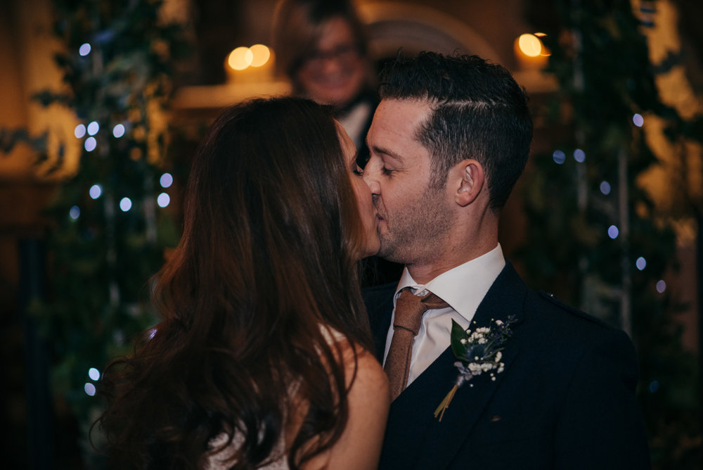 First Kiss Wedding Glasgow