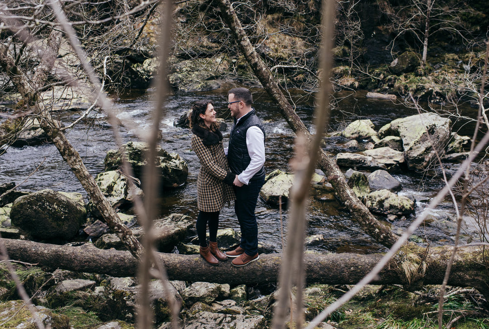 Loch Lomond Engagement Shoot