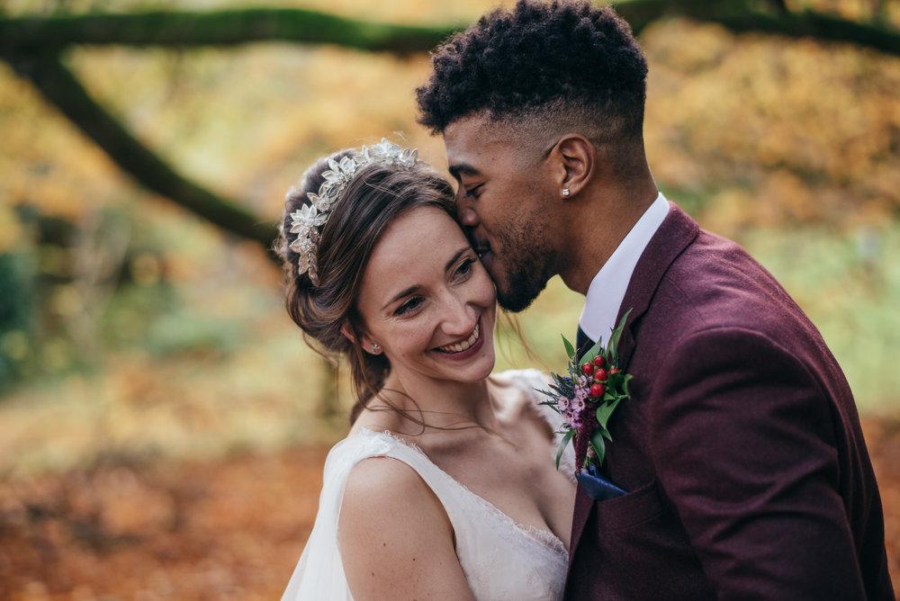 Bride and groom wedding portraits Dalduff