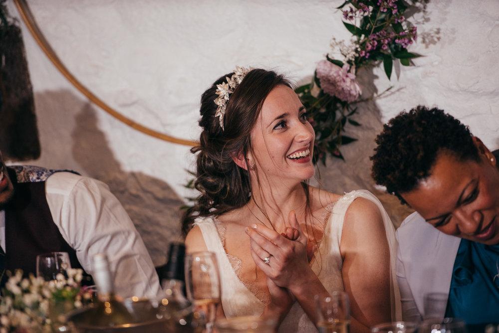 Wedding speeches Dalduff Farm