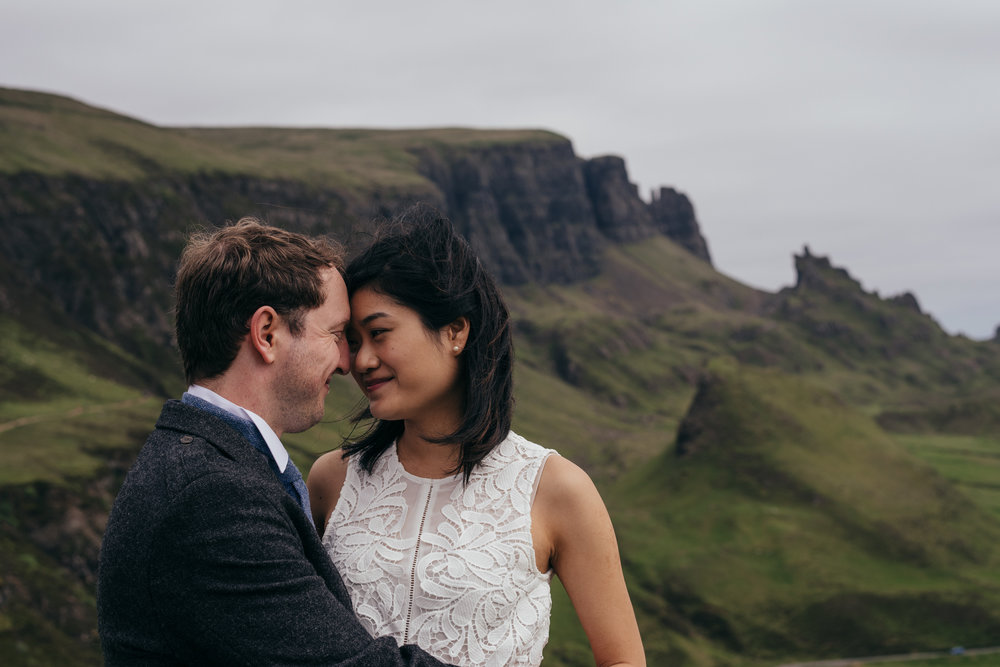 The Quiraing Elopement Skye