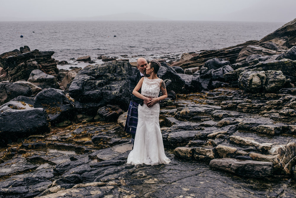 Isle of Skye elopement photography