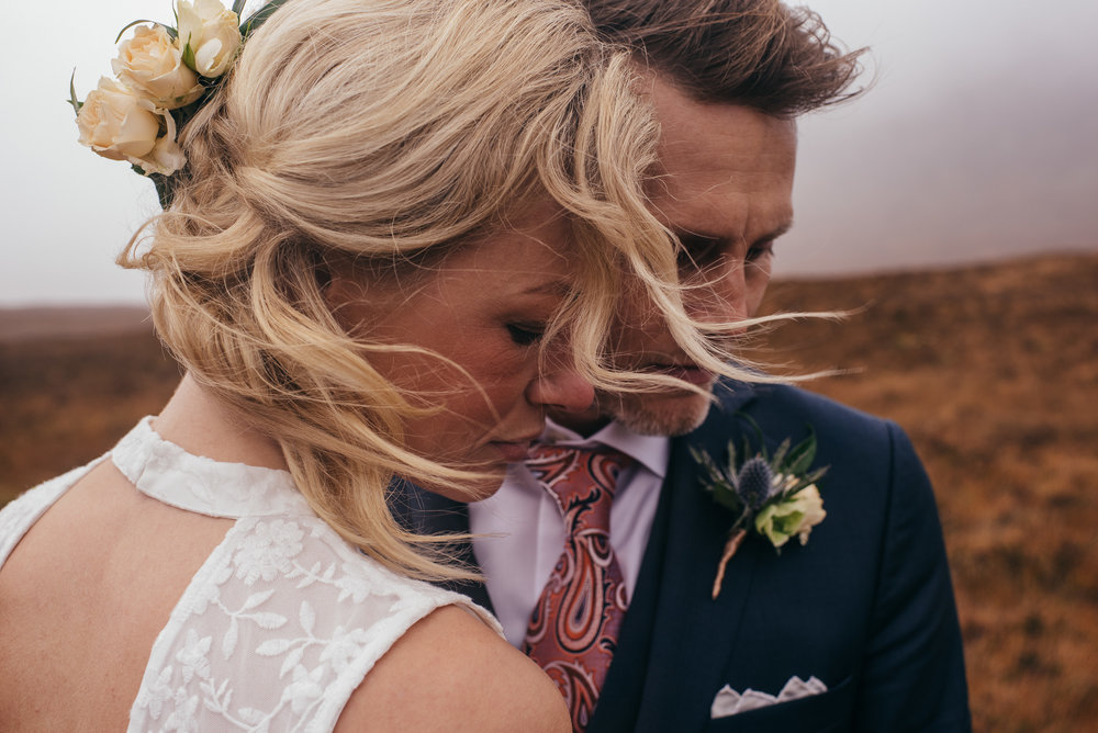 Emotional Elopement Portrait