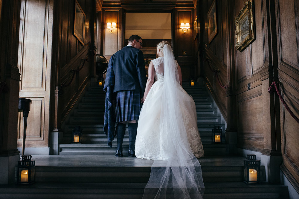Rowallan Castle Wedding Photographs