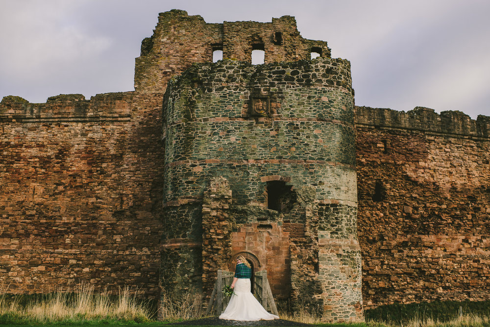 Tantallon Castle Wedding