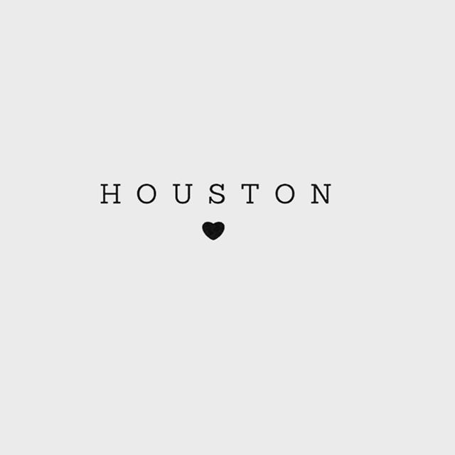 It's heart breaking to see what is happening just 4 hours away from us. Praying for Houston 🖤