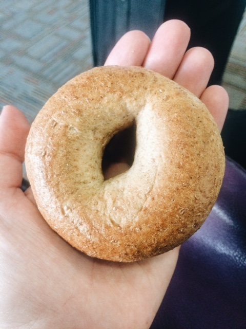 Mini Whole-Wheat Bagels from Whole Foods