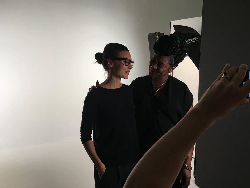 brandon milbradt interviews alicia garza. photo by gillian laub.