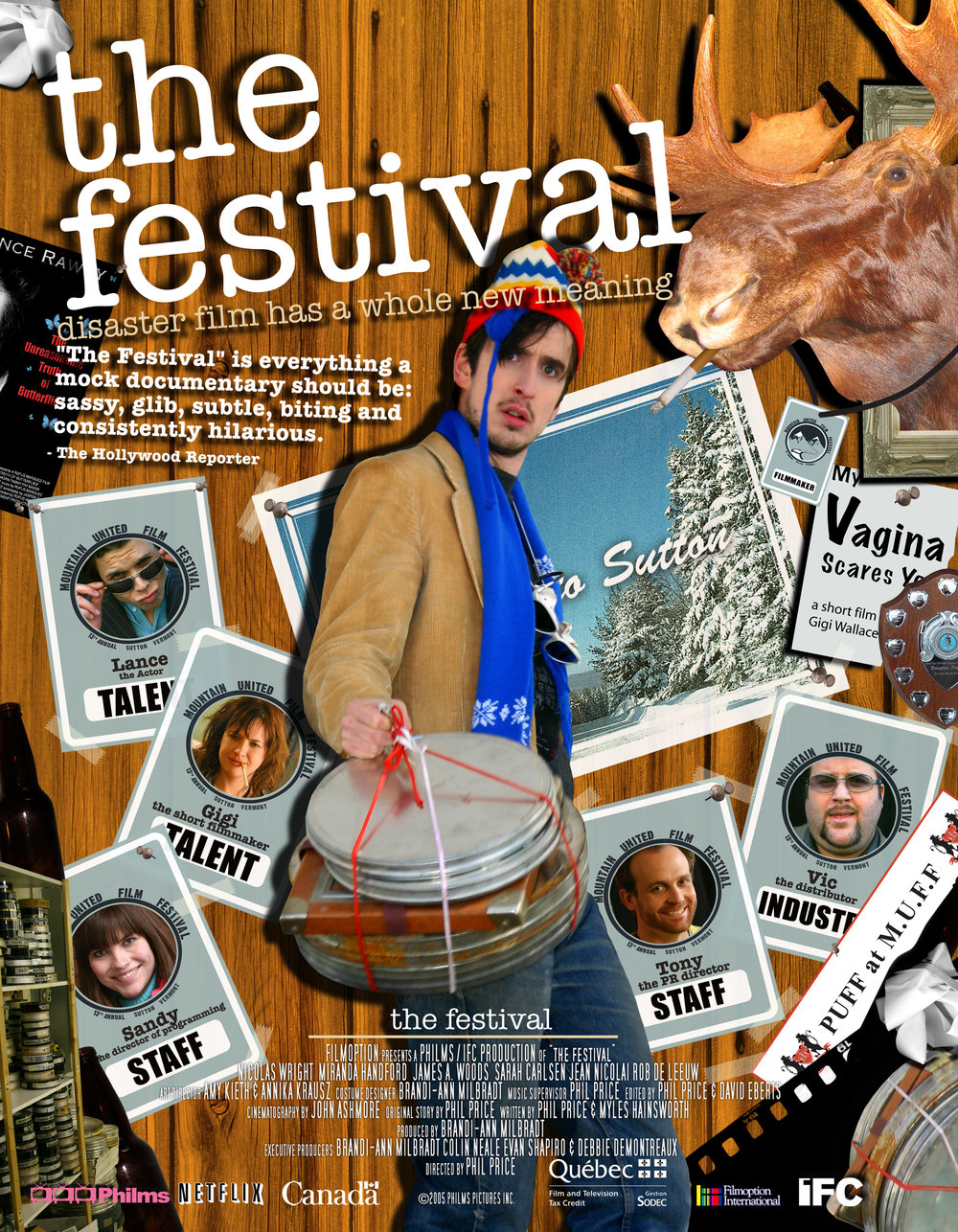 IFC The Festival poster