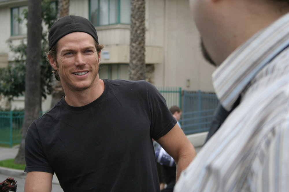 jason lewis. guest star on The Business.