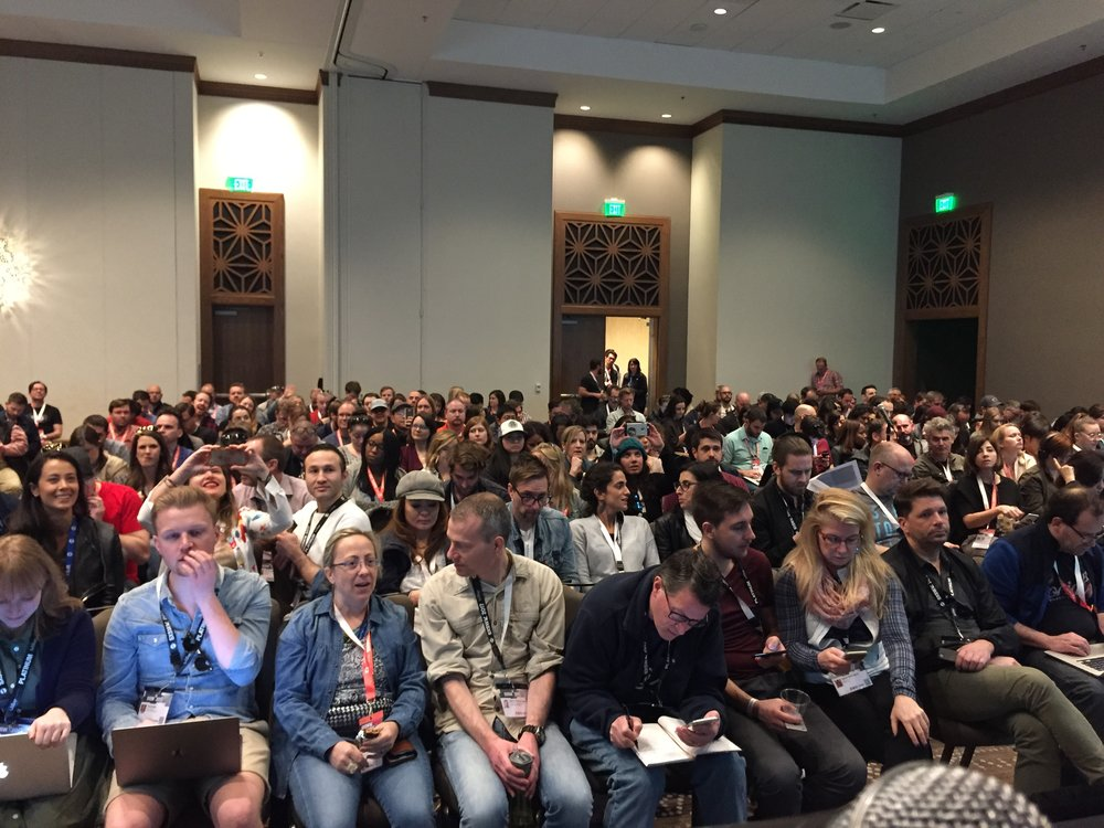 Packed house at SXSW...