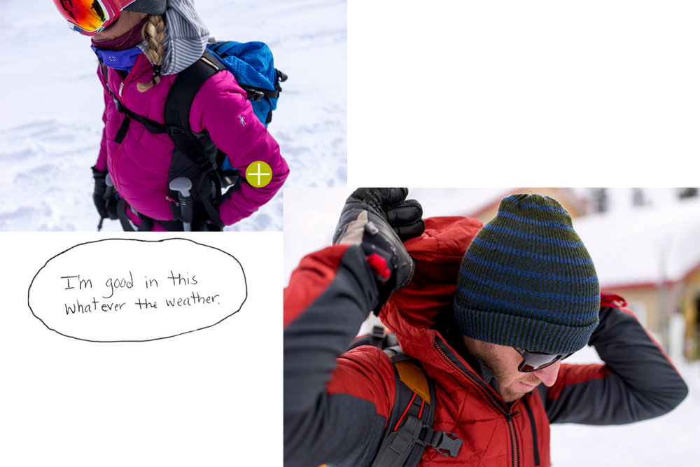 SmartLoft layers offer warmth and lightweight breathability for one-and-done midlayers. Check out Smartlofthere.