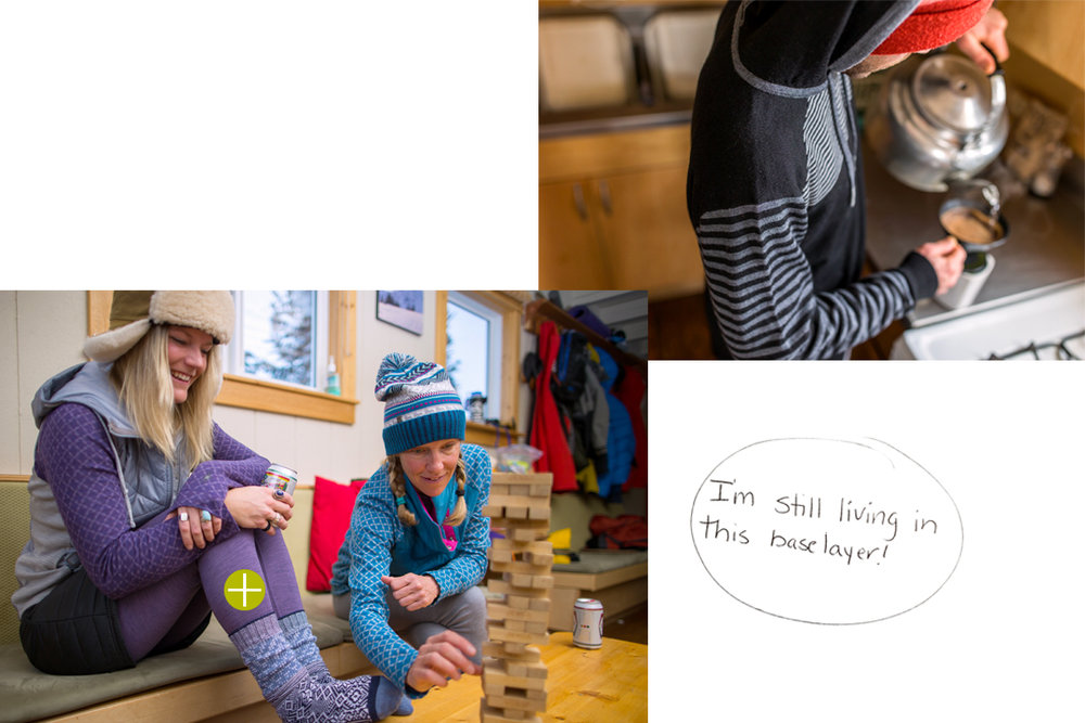 Baselayers are the foundation for any adventure. Check out what the athletes were wearing here