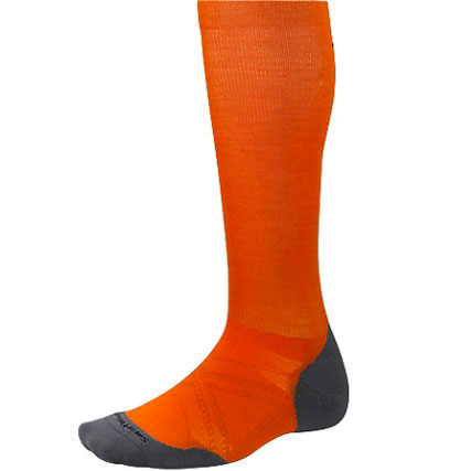 PhD Run Graduated Compression Light Elite: Graduated compression is great for recovery and the Light Elite cushioning allows for impact protection with minimal in-shoe volume.