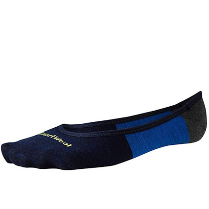 Men's Divide Line: The ideal sock for those who like the look of no socks, but not the foot funk. The color blocking means you can still have a little fun even if nobody but you can see it.