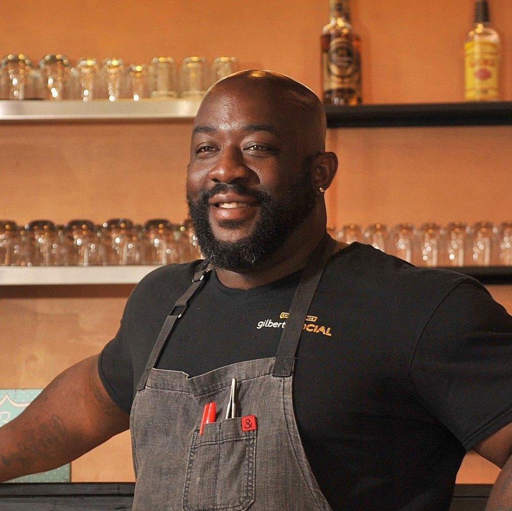 Chef Kenny Gilbert    Gilbert's Underground Kitchen |  Gilbert's Social    Jacksonville, Florida