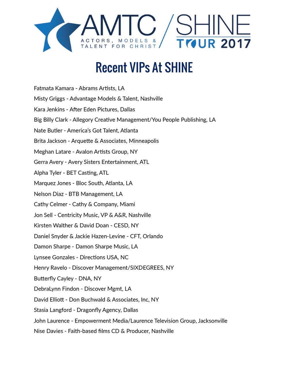 Download Sample VIP List