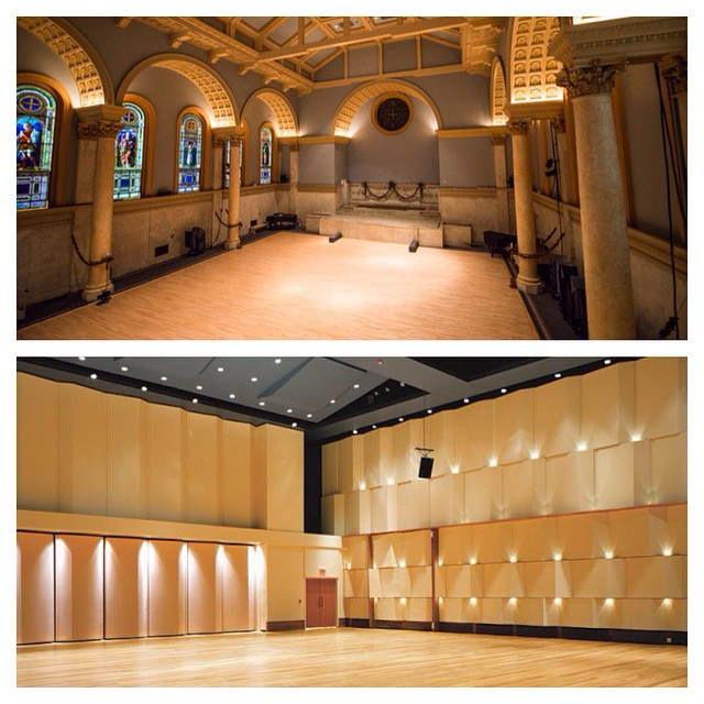 Up next for CMD, shows of our newly reconstructed Evergreen at these two phenomenal venues.... Top is Judson Memorial Church in NYC on July 1... Bottom is Detroit Symphony Orchestra in Detroit on August 7. Stay tuned for more details!