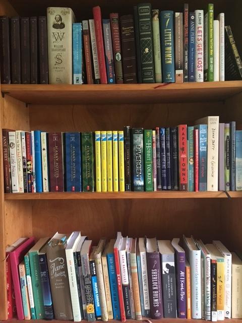 A portion of my bookshelf :-)