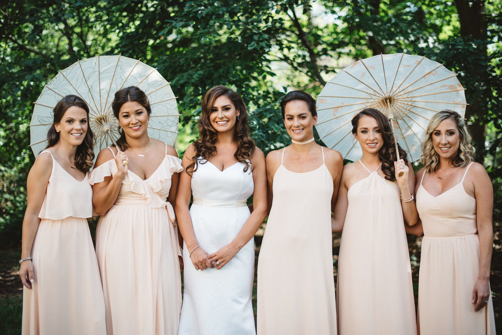 We are an award winning team of professional hairstylists and makeup artists providing elite beauty services to real brides and bridal parties.  -