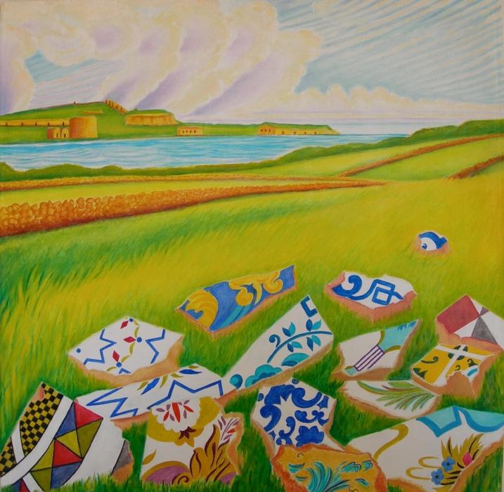 Gleaning fragments, Mahon Habour Menorca
