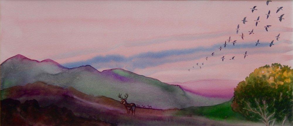 Evening, Santa Ynez Valley