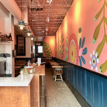 Take a peek inside Kim Bartmann's long-awaited bubbly bar Trapeze, now open in Uptown - City Pages — June 19, 2018