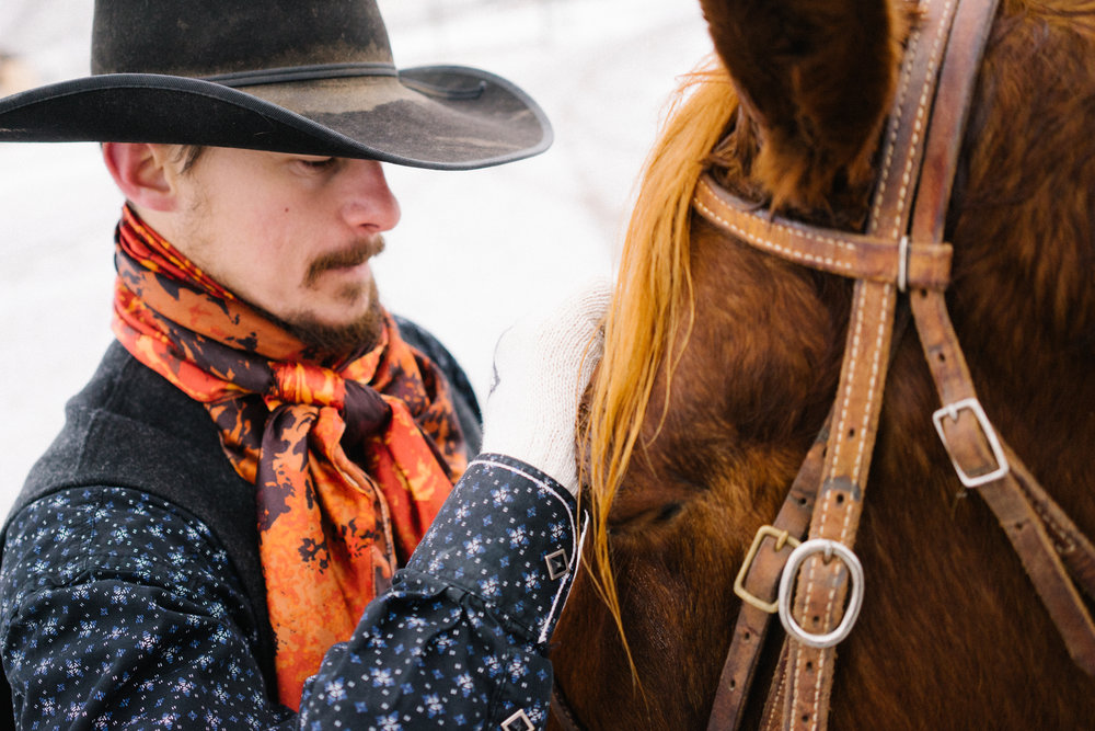Shot for Stetson. These photos tell the story of the true cowboy dream. To wake each day and work. Then to get up and do it again the next, and the next. No fame and fortune. No cheering crowds. These are the dreams on the divide.
