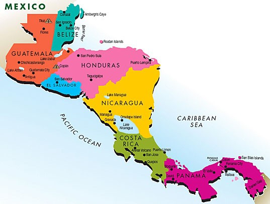Middle/High — Teaching Central America