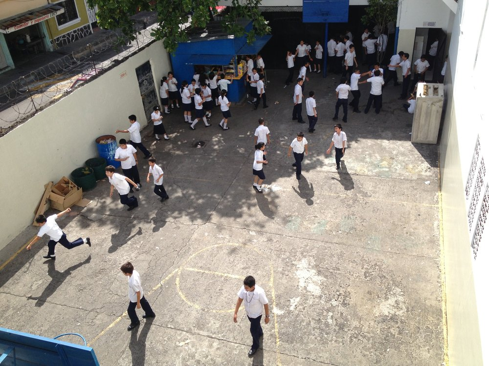 Recess in San Salvador