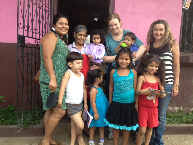 Family in Nicaragua