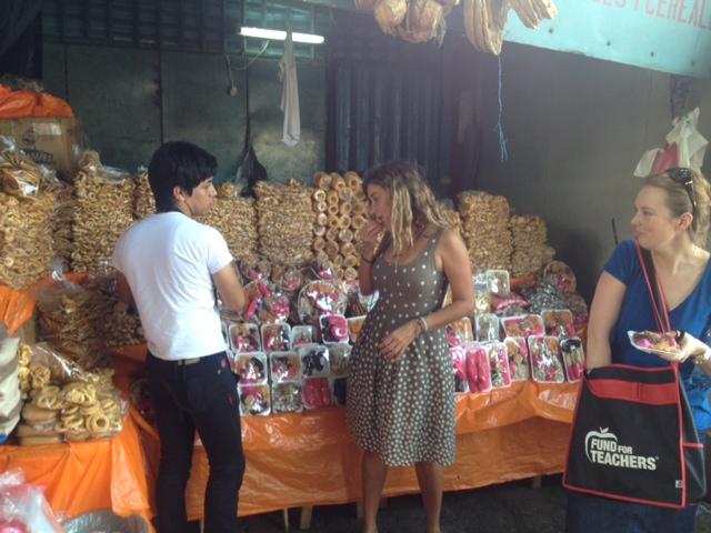 Golosinas in Managua.