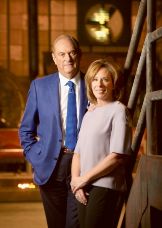 Jim and Sandi Treliving, National Chairs, 150 Leading Canadians for Mental Health. Photo by Kevin Van Paassen