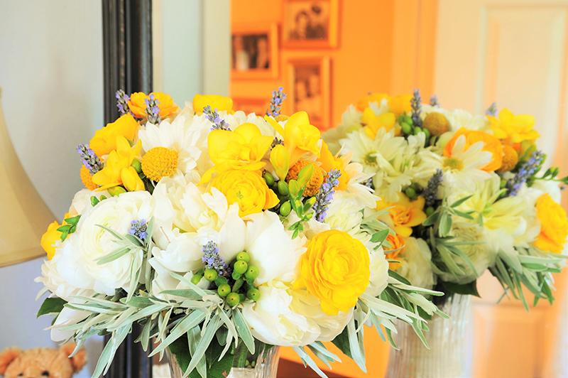 Wedding floral bouquet