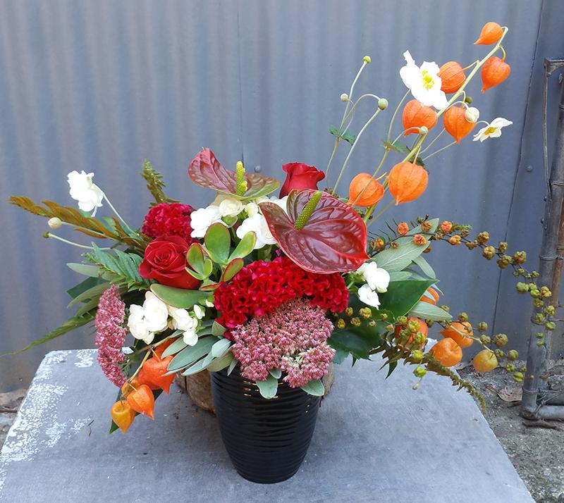 Floral arrangement for events