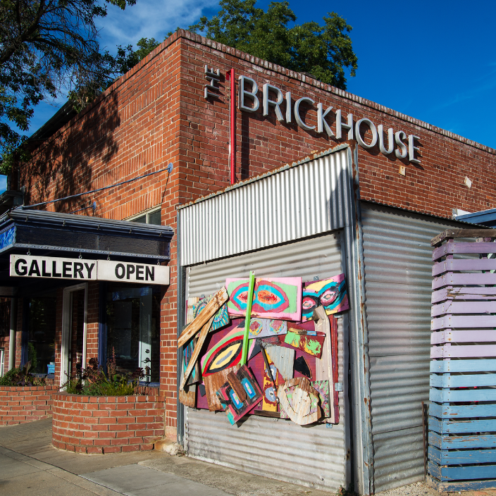 Brickhouse art Gallery - art Opening