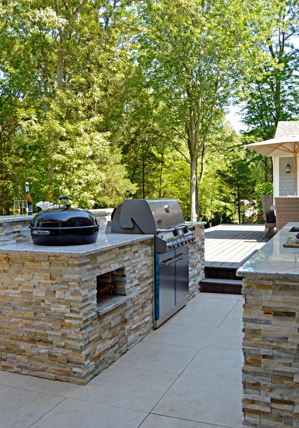 Port Jefferson, NY outdoor kitchen