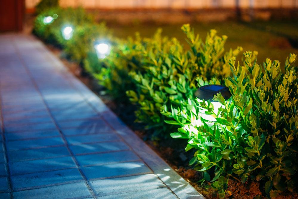 outdoor lighting walkway Long Island, NY