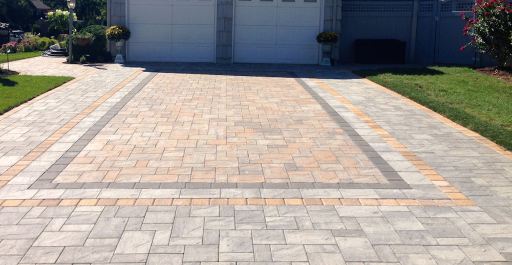 driveway with pavers in Long Island, NY