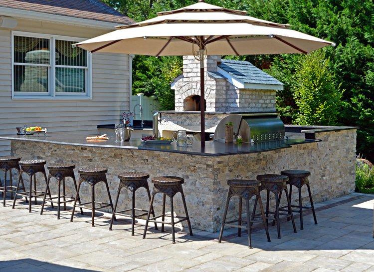 Outdoor Kitchens In Plainview Ny Long Island Ny Above All Masonry